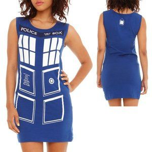 Dr. Doctor Who Tardis Her Universe Tunic Dress Sm